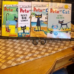 New My First Reading Pete the Cat Books Set of 4